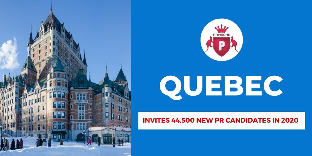 Quebec admit that up to 44,500 new permanent residents can be invited in 2020