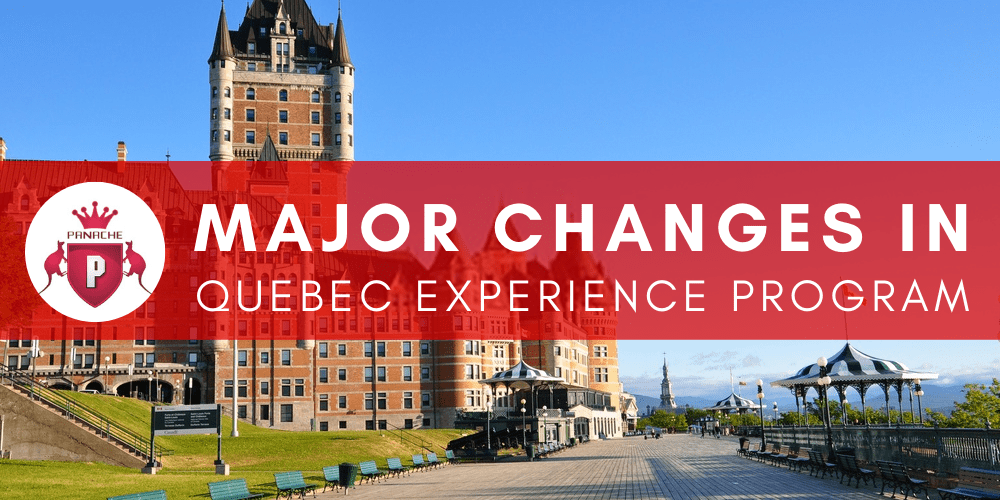 Major Changes in Quebec Experience Program