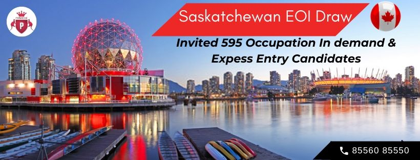 595 Occupation In-demand and Express Entry Candidates Invited in Latest Saskatchewan EOI Draw for Canada PR Visa