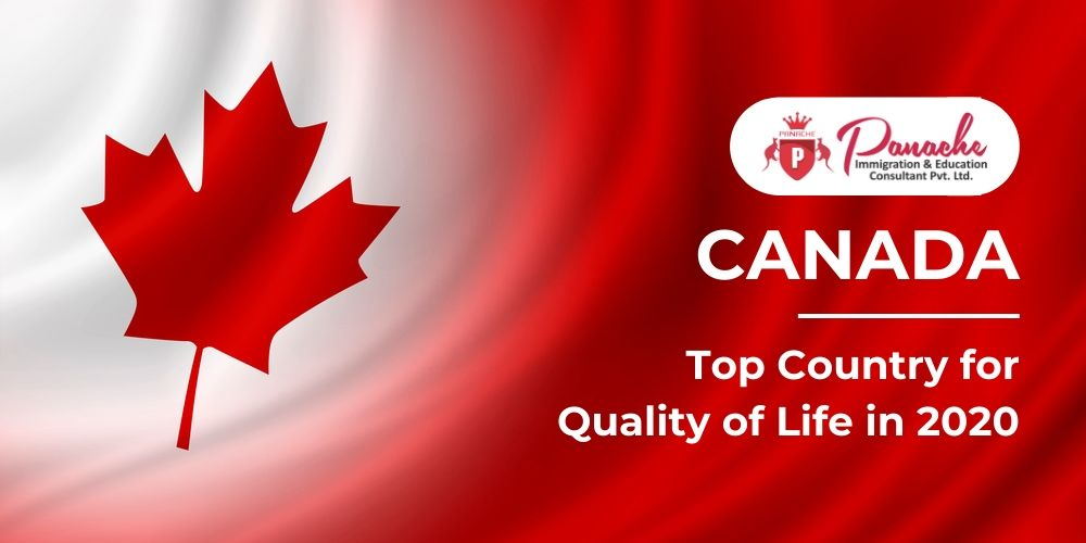 Canada – Top Country for Quality of Life in 2020