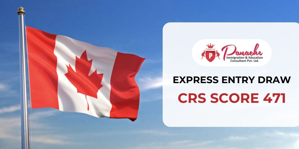 Canada invites 3,400 Express entry candidates in the latest express draw for PR Visa