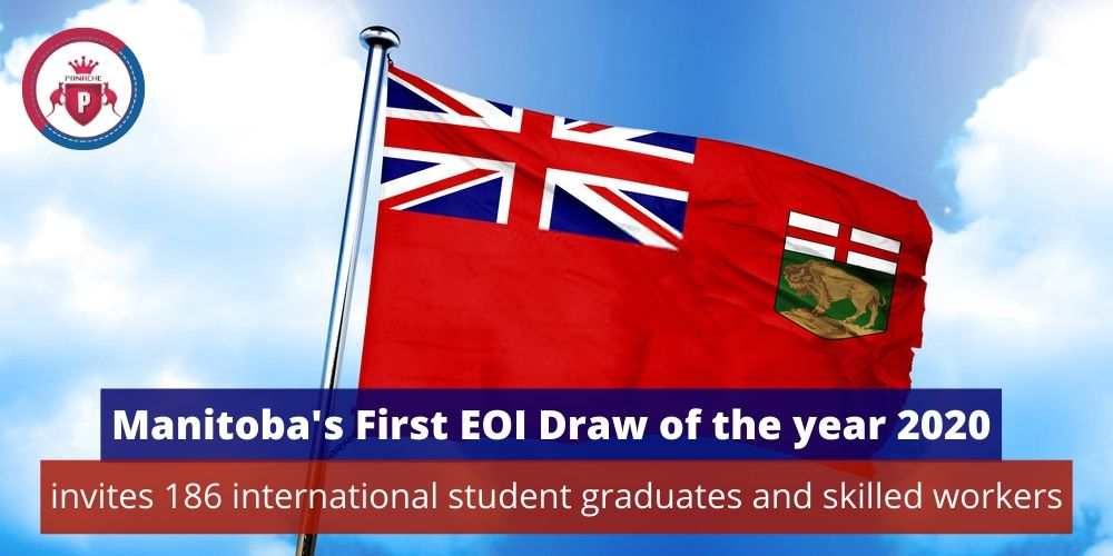 Manitoba's First EOI Draw of the Year 2020 Invites 186 Candidates